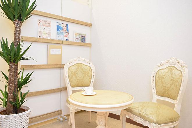 トータルビューティーエステサロンティアラ葛西店の店内の様子
